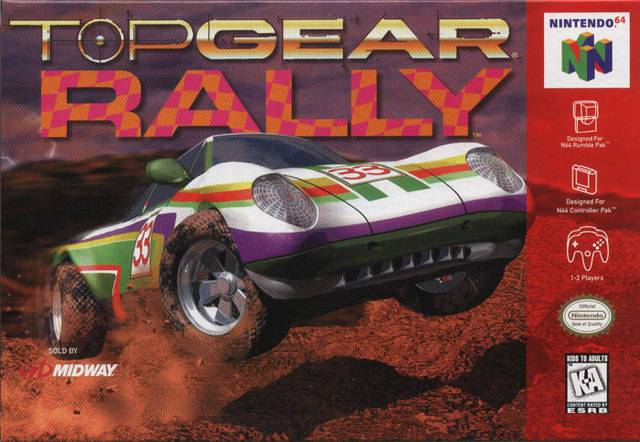 Top Gear Rally - Nintendo 64