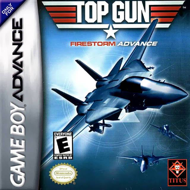Top Gun Firestorm Advance - Game Boy Advance