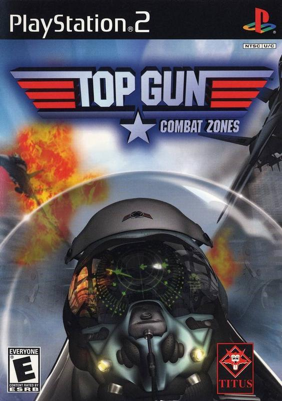 Top Gun Combat Zones - PlayStation 2
