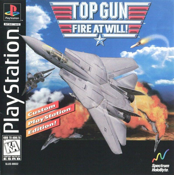 Top Gun Fire At Will - PlayStation 1
