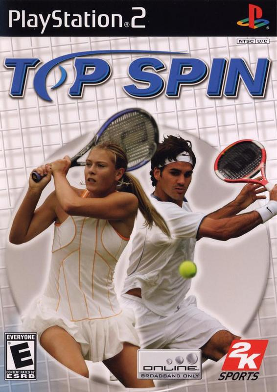 Top Spin - PlayStation 2
