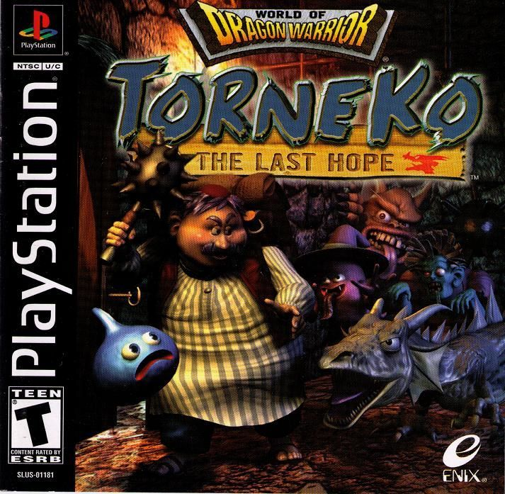 Torneko The Last Hope - PlayStation 1