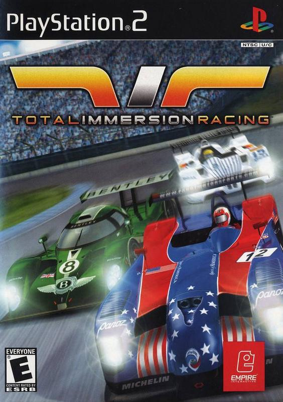 Total Immersion Racing - PlayStation 2