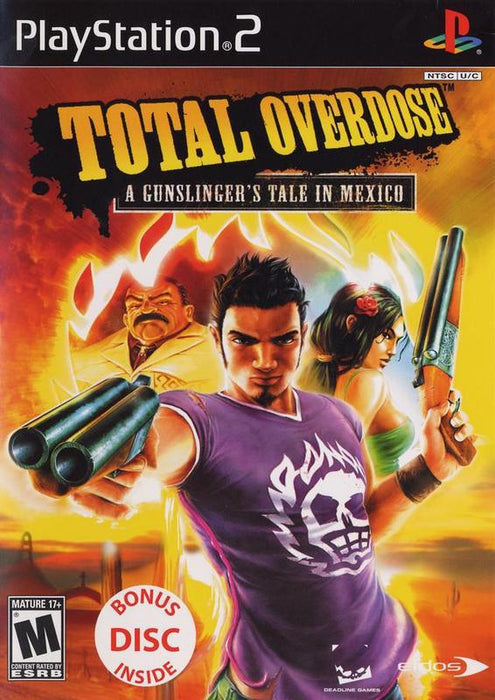 Total Overdose A Gunslingers Tale in Mexico - PlayStation 2