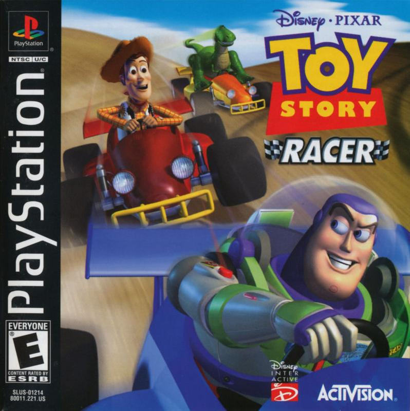 Toy Story Racer - PlayStation 1
