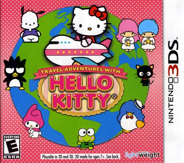 Travel Adventures with Hello Kitty - Nintendo 3DS