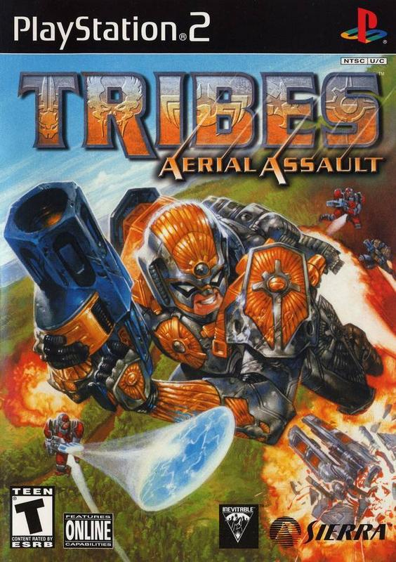 Tribes Aerial Assault - PlayStation 2