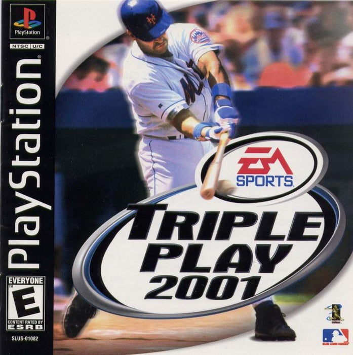 Triple Play 2001 - PlayStation 1