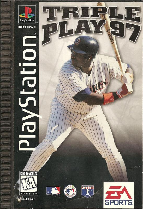 Triple Play 97 - PlayStation 1