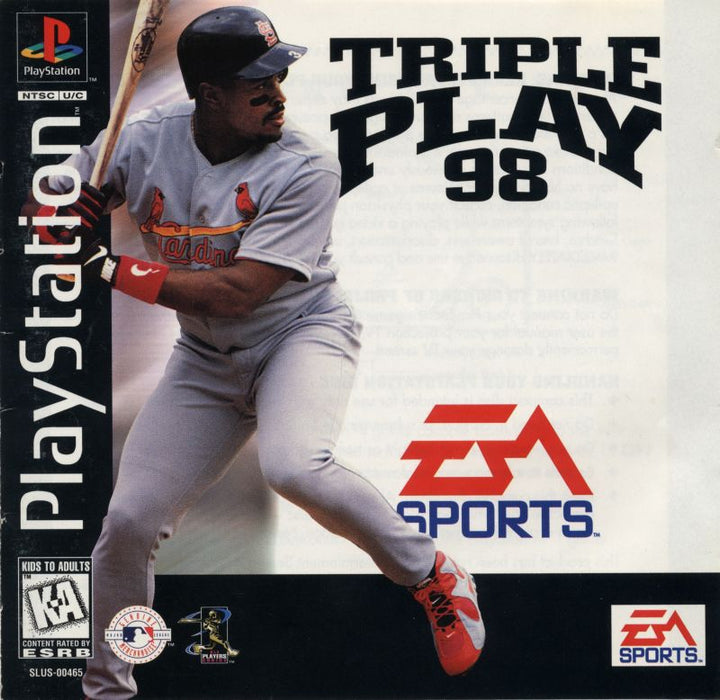 Triple Play 98 - PlayStation 1