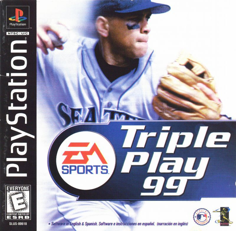 Triple Play 99 - PlayStation 1
