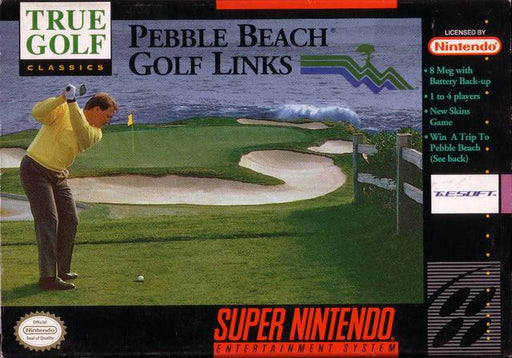 True Golf Classics Pebble Beach Golf Links - Super Nintendo Entertainment System