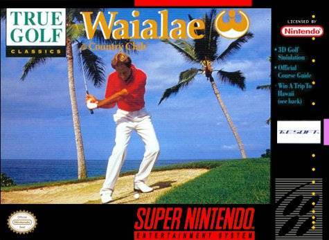 True Golf Classics Waialae Country Club - Super Nintendo Entertainment System