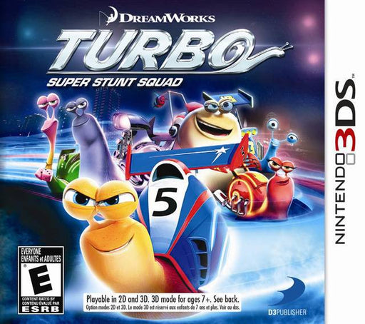 Turbo Super Stunt Squad - Nintendo 3DS