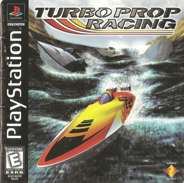 Turbo Prop Racing - PlayStation 1