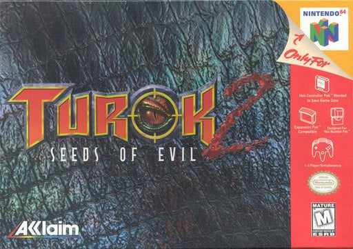 Turok 2 Seeds of Evil - Nintendo 64