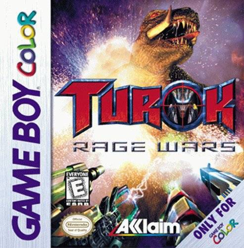 Turok Rage Wars - Game Boy Color