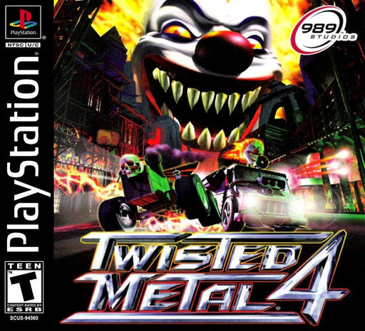Twisted Metal 4 - PlayStation 1