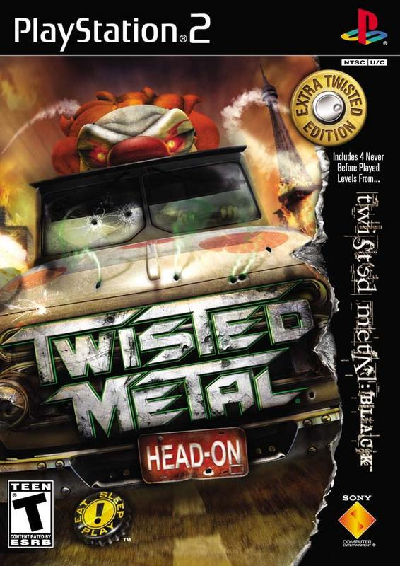 Twisted Metal Head-On - Extra Twisted Edition - PlayStation 2