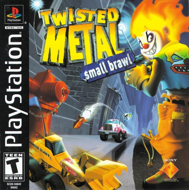 Twisted Metal Small Brawl - PlayStation 1