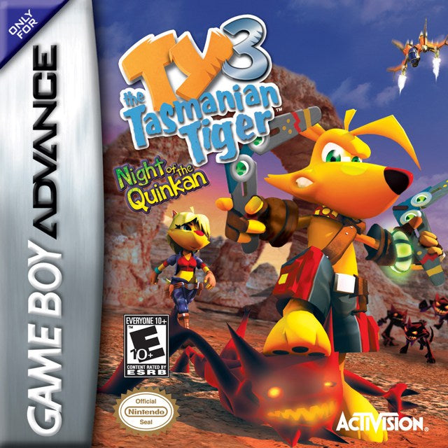 Ty the Tasmanian Tiger 3 Night of the Quinkan - Game Boy Advance