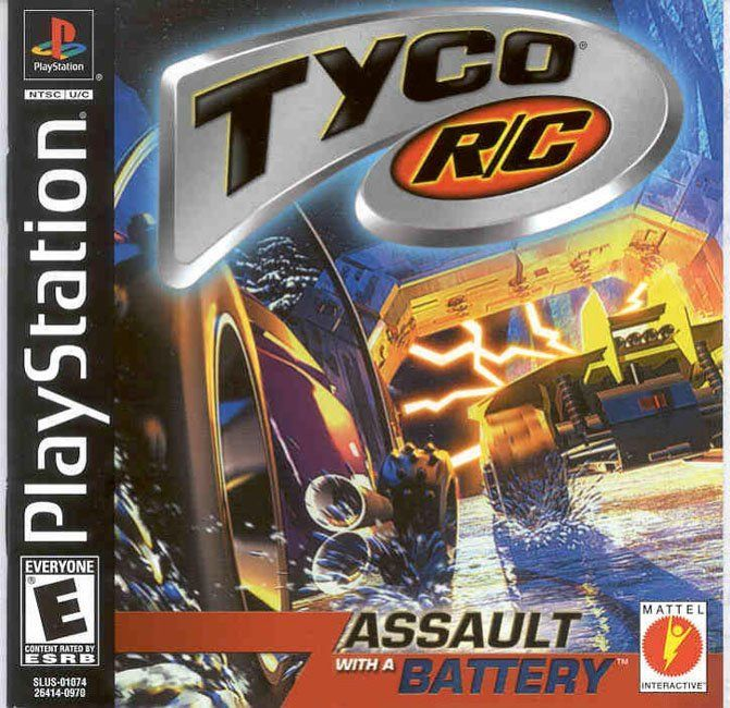 Tyco RC Assault With a Battery - PlayStation 1