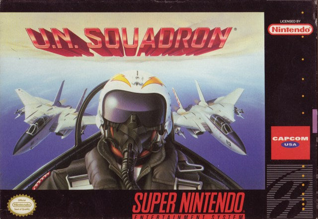 U.N. Squadron - Super Nintendo Entertainment System