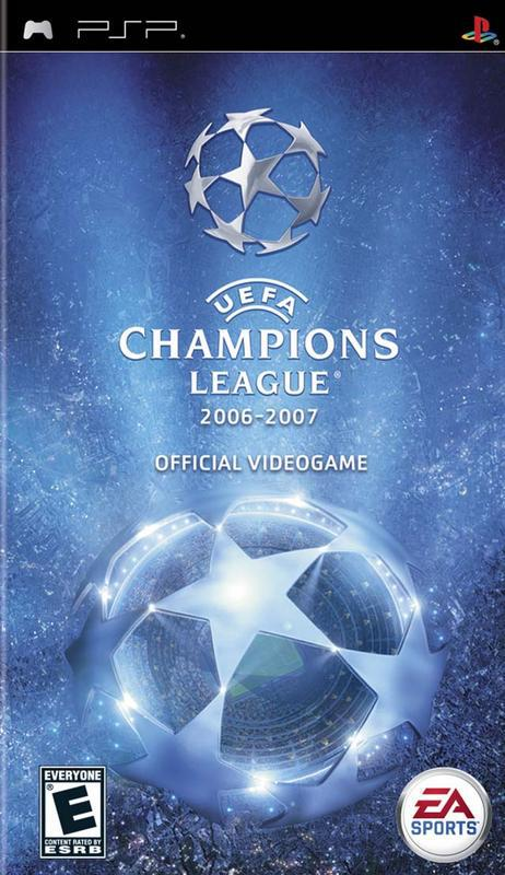 UEFA Champions League 2006-2007 - PlayStation Portable