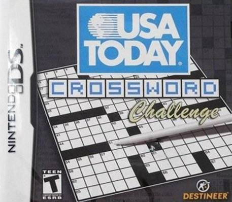 USA Today Crossword Challenge - Nintendo DS