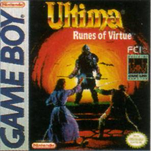 Ultima Runes of Virtue - Game Boy