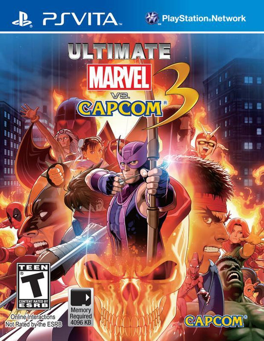 Ultimate Marvel vs. Capcom 3 - PlayStation Vita