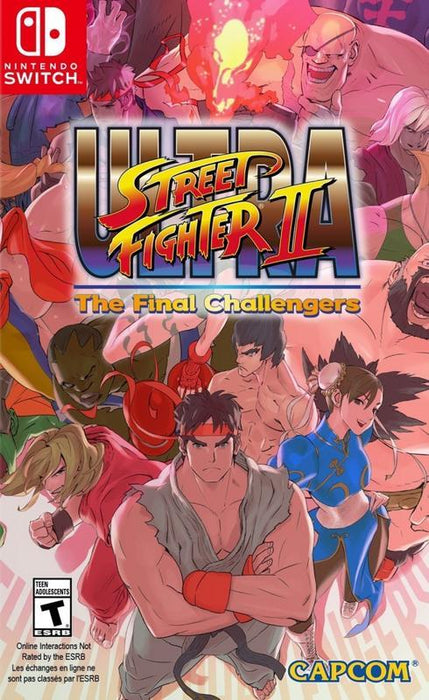 Ultra Street Fighter II The Final Challengers - Nintendo Switch