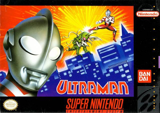 Ultraman - Super Nintendo Entertainment System