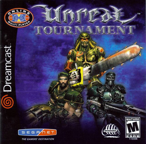 Unreal Tournament - Sega Dreamcast