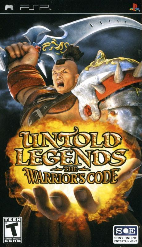 Untold Legends The Warriors Code - PlayStation Portable