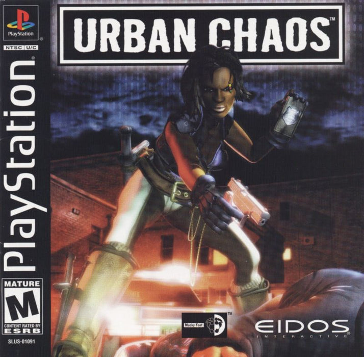 Urban Chaos - PlayStation 1