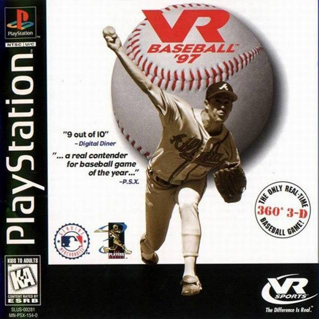 VR Baseball 97 - PlayStation 1