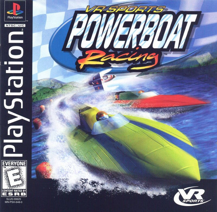 VR Sports Powerboat Racing - PlayStation 1