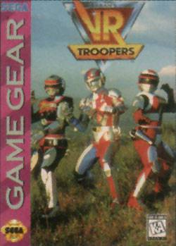 VR Troopers - Sega Game Gear