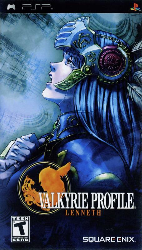Valkyrie Profile Lenneth - PlayStation Portable
