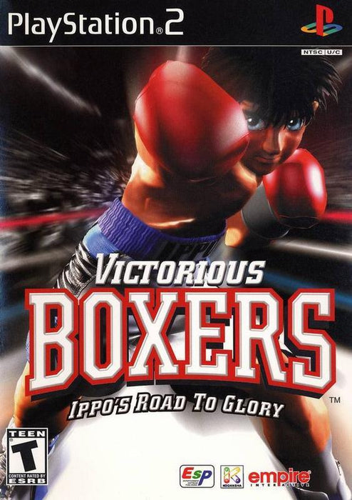 Victorious Boxers Ippos Road to Glory - PlayStation 2