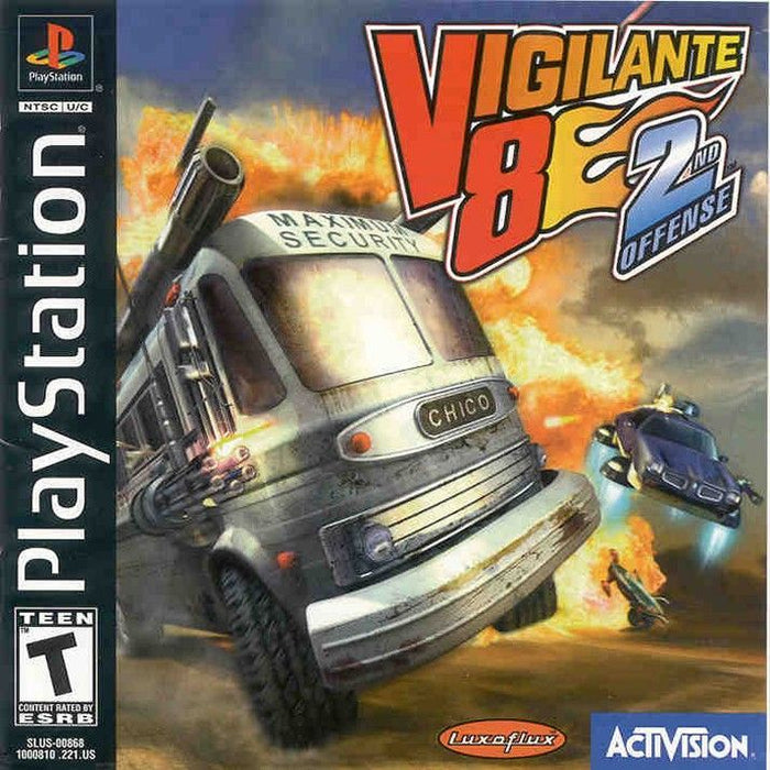 Vigilante 8 Second Offense - PlayStation 1