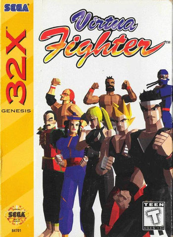 Virtua Fighter Sega Genesis 32x