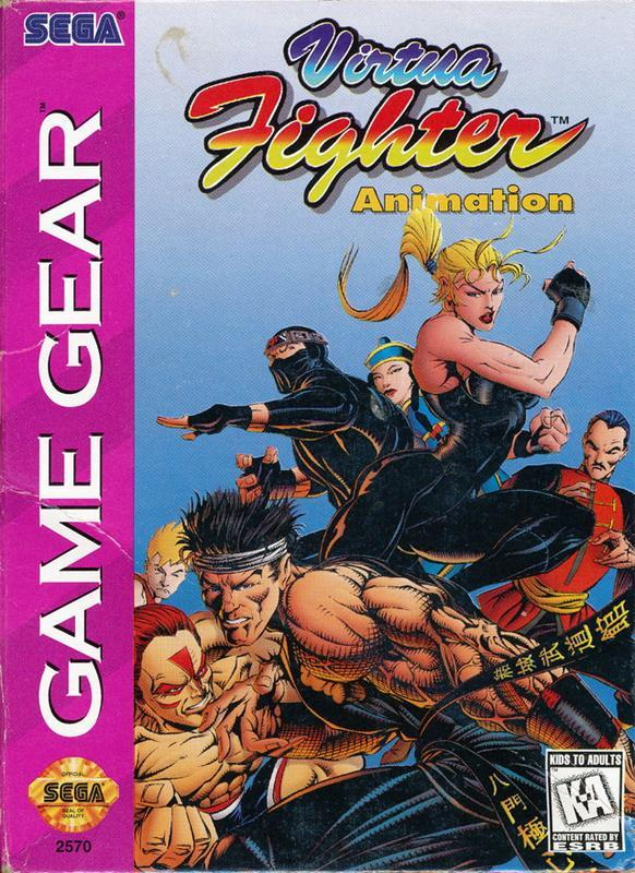 Virtua Fighter Animation - Sega Game Gear