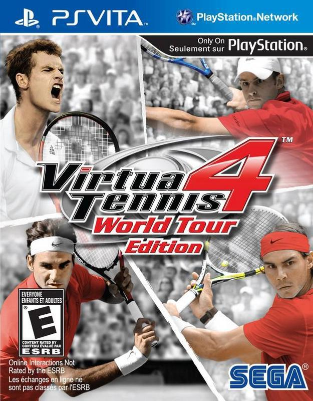 Virtua Tennis 4 World Tour Edition - PlayStation Vita