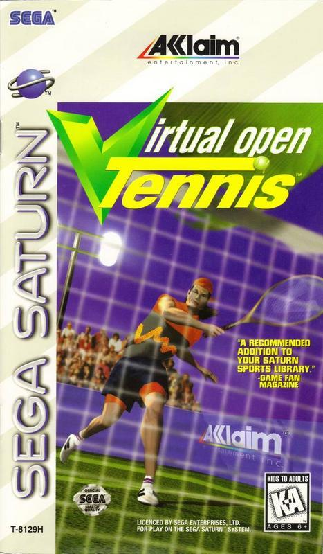Virtual Open Tennis - Sega Saturn