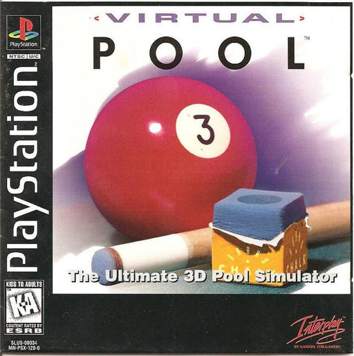 Virtual Pool - PlayStation 1