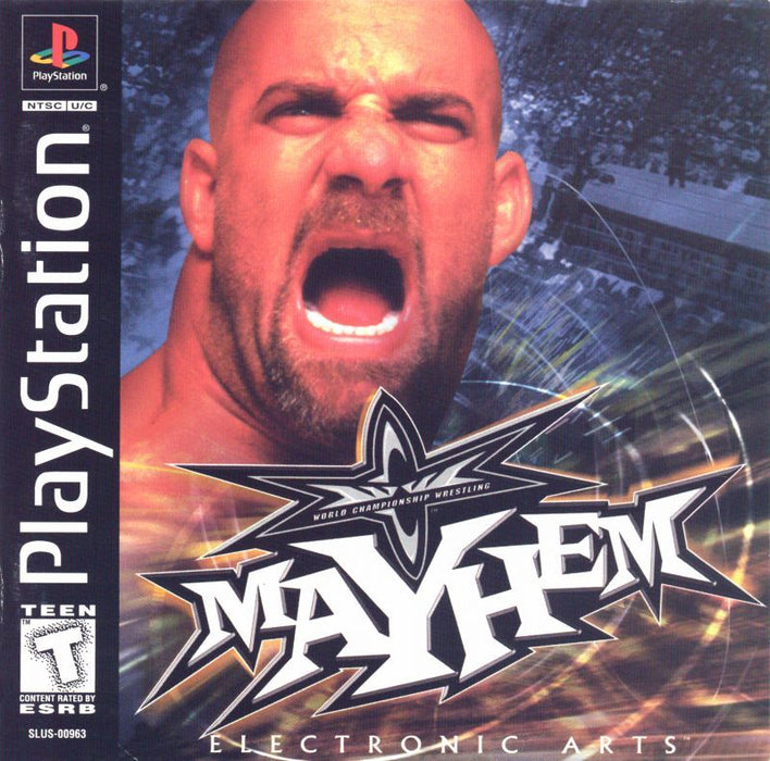 WCW Mayhem - PlayStation 1