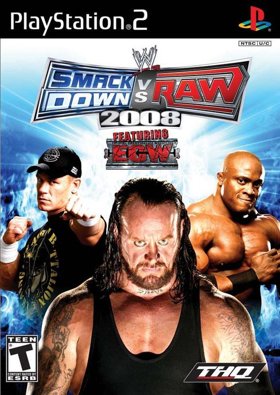 WWE SmackDown vs. Raw 2008 - PlayStation 2