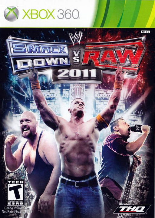 WWE SmackDown vs. Raw 2011 - Xbox 360